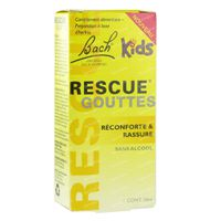 Bach Fleur Rescue Junior 10 ml gouttes
