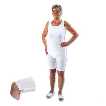 Bota Suprima 4697 Body Dame Manche Courte Blanc Large 1 pièce