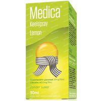 Medica Keelspray Lemon Keelpijn 30 ml
