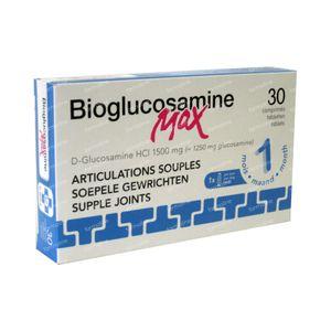 Bio-Glucosamine Max 1500mg Zonder Mn 30 tabletten