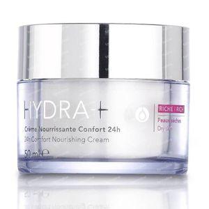 RoC Hydra+ Crème Nourrisante Confort 24h Riche 50 ml crème
