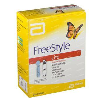 Abbott Maintenance Kit Freestyle Lit. Educ. Auto-Soins 1 pièce