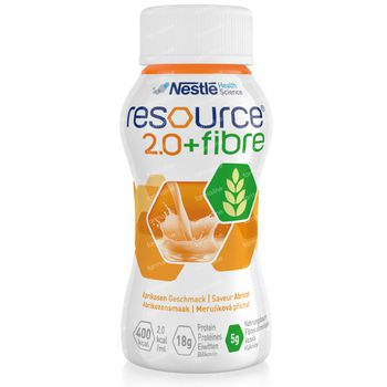 Resource 2.0 + Fibre Abricot 4x200 ml
