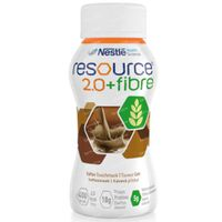 Resource 2.0 + Fibre Koffie 4x200 ml