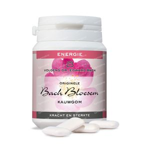 Bachbloesem Kauwgom N40 Energie Z/Suiker 40 stuks