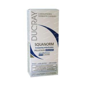Ducray Squanorm Champú Tratante Anticaspa - Caspa Grasa 200 ml
