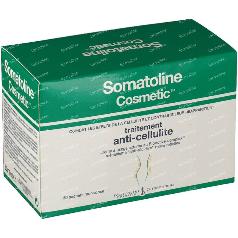 Somatoline Cosmetic Anti-Cellulite Cure 30x10 ml order online.