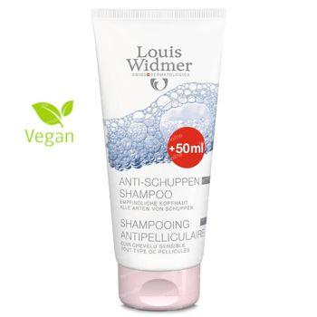 Louis Widmer Antiroosshampoo Zonder Parfum + 50 ml GRATIS 150+50 ml
