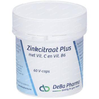 Deba Zinc Citrate Plus 60 capsules