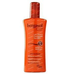Bergasol Zonnemelk SPF20 125 ml