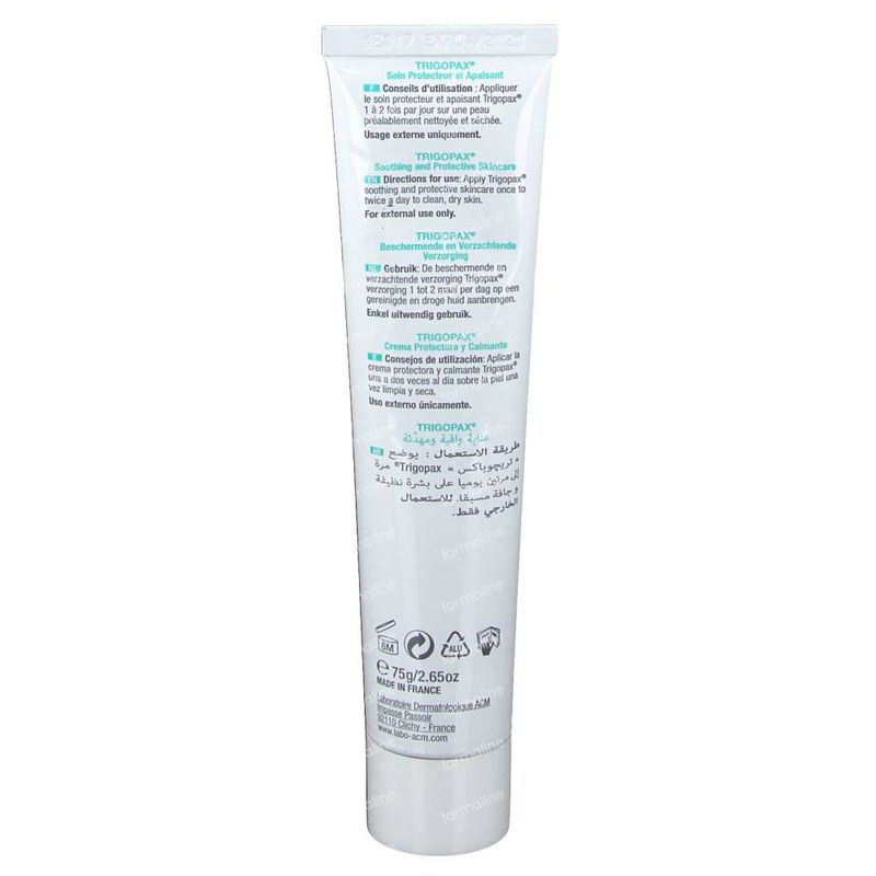 Trigopax Cream Protective Soothing Tube