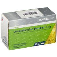 Levocetirizine 5mg Sandoz 100  tabletten