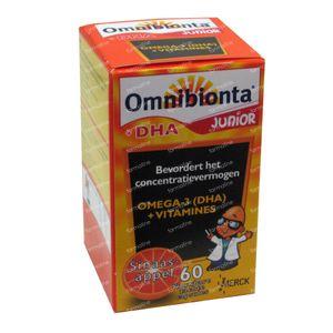 Omnibionta Junior + DHA 60 pastillas para masticar