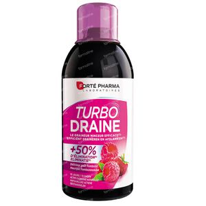 Forté Pharma Turbodraine Raspberry 500 ml