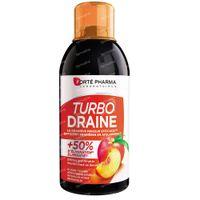 Forté Pharma Turbodraine Groene Thee-Perzik 500 ml