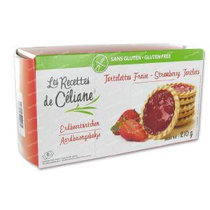 Celiane Tartelettes Aux Fraises 210 g