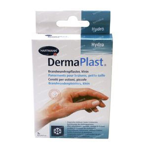 Hartmann Dermaplast Burning Marks 1.5cm x 6.5cm 3 pieces