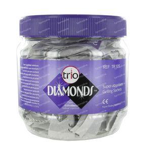 Trio Diamonds Gel Bags Super Absorbent  TR105 100 pieces