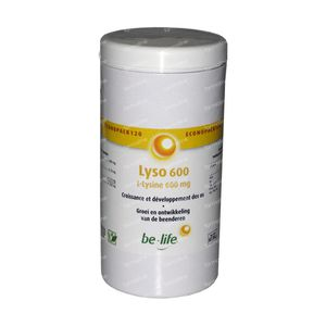 Be Life Lyso 600 120 capsules