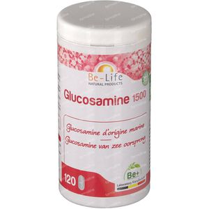 Be-Life Glucosamine 1500 Mg 120 tablets