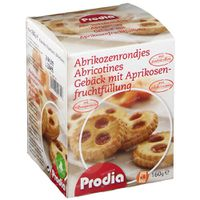Prodia Abrikozenrondjes 160 g