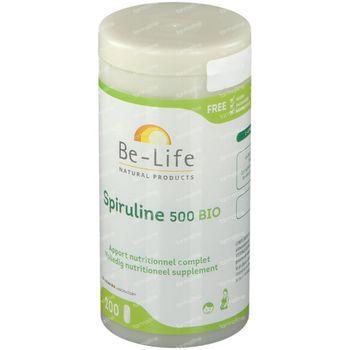 Be-Life Spiruline 500 200 comprimés