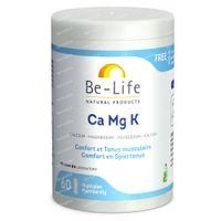 Be-Life Ca-Mg-K 600mg Mineraux 60  capsules
