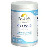 Be-Life Cu + Vit. C 60  capsules