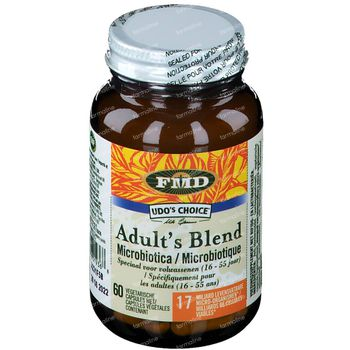 Udo's Choice Microbiotica Adult's Blend 60 capsules