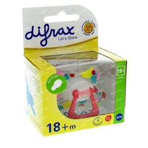 Difrax Schnuller Combi Girl +18M 1 st