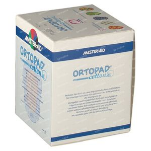 Ortopad Cotton Medium Boys Oogpleisters 50 St