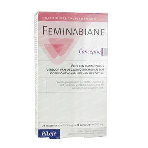 Feminabiane Conception 56 capsule