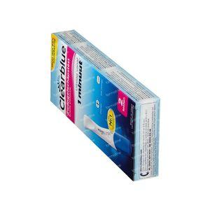 Clearblue Plus Test de grossesse Détection Rapide DUO 2 pièces