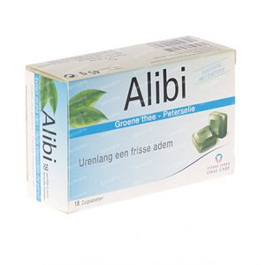 Alibi Pastilles Fresh Breath 18 pieces