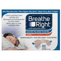 Breathe Right Tanned Neusstrips Large 30 stuks