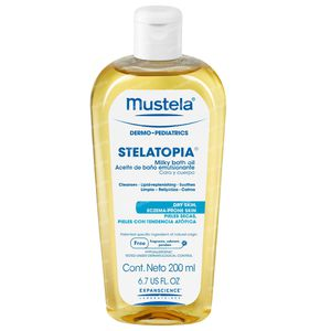 Mustela Stelatopia Milky Bath Oil 200 ml