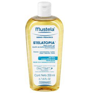 Mustela Stelatopia Milky Bath Oil 200 ml