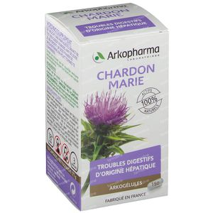 Arkogélules Chardon Marie Vegetal 150 capsules