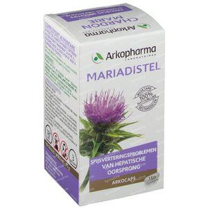 Arkocaps Mariadistel Plantaardig 150 capsules