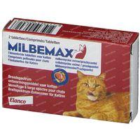 Milbemax Kat 1x2  tabletten