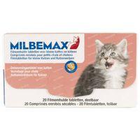 Milbemax Kleine Katten en Kittens 1x2  tabletten