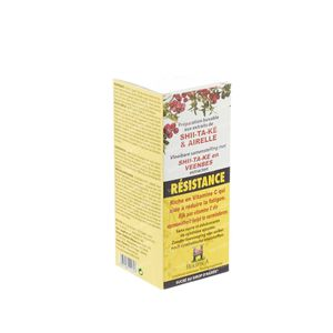 Shiitake & Bessen Siroop Bioholistic 150 ml