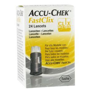 Accu-Chek Fastclix Lancets 24 pieces