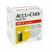 Accu-Chek Fastclix Lancettes 100+2 pièces