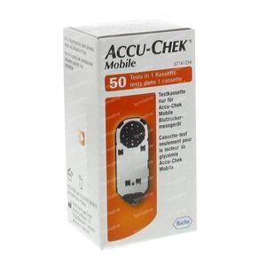 Accu-Chek Mobile Cassette - Test 50 pièces