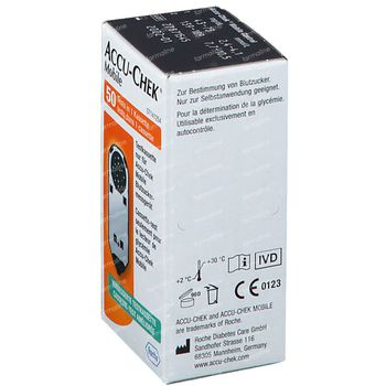 Accu-Chek Mobile Test Cassette 50 stuks