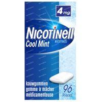 Nicotinell Cool Mint 4mg 96  kauwgoms