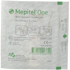 Mepitel One Sterile 5cm x 7.5cm 289100 1 item