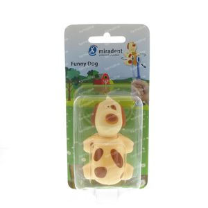 Miradent Funny Animals Chien Socle Brosse 1 St