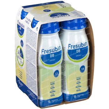 Fresubin Db Drink Vanille 4x200 ml